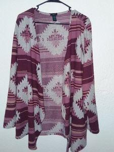 Tops - 4/$25 Aztec Design Jacket